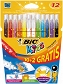 Flamastry Bic Colour & Erase 12 szt.
